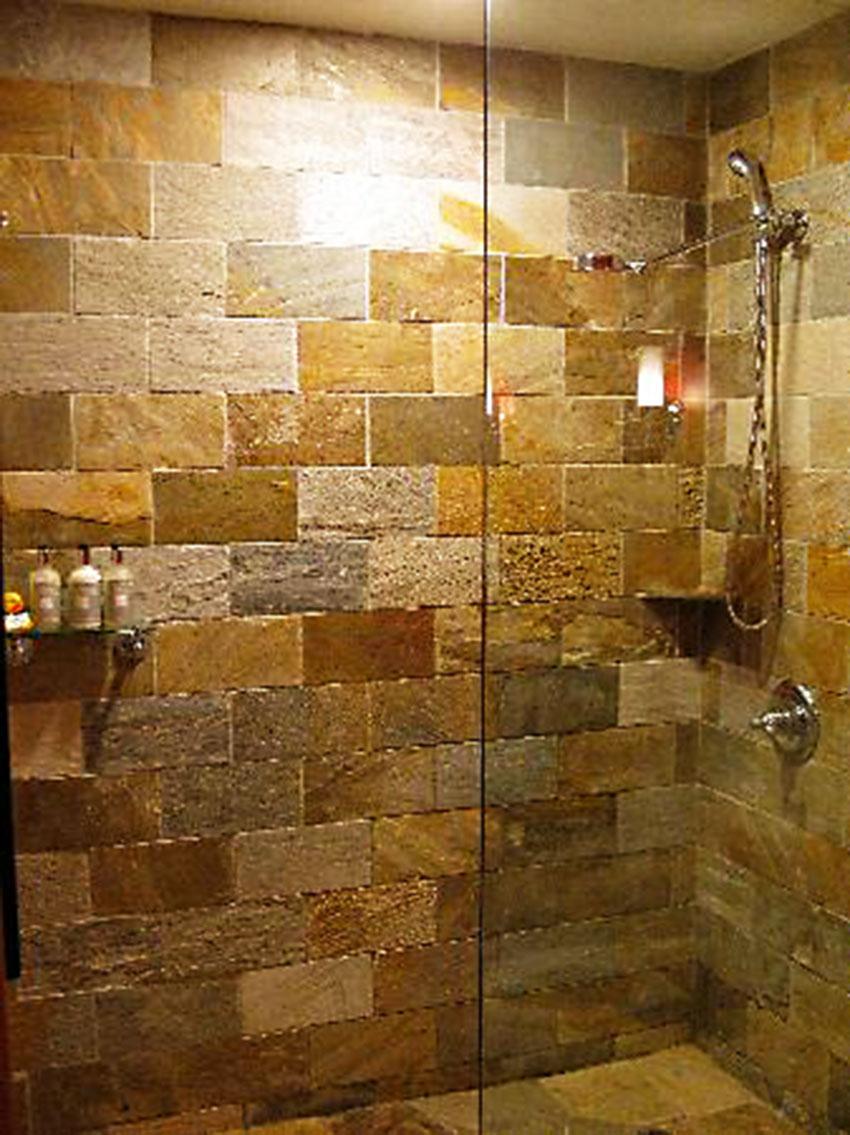 Tile Work In Bathrooms